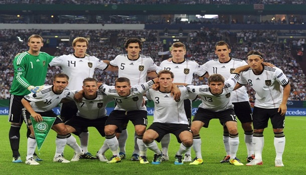 (Bottom row L-R) Philipp Lahm, Bastian S
