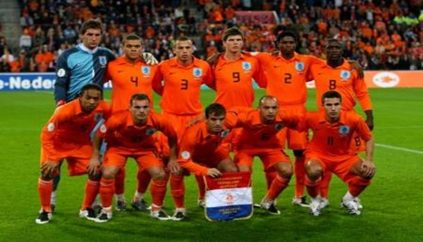 Soccer - UEFA European Championship 2008 Qualifying - Group G - Holland v Slovenia - Philips Stadion